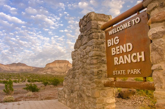 Big Bend Ranch State Park - https://www.flickr.com/photos/quakeup/16039233466/