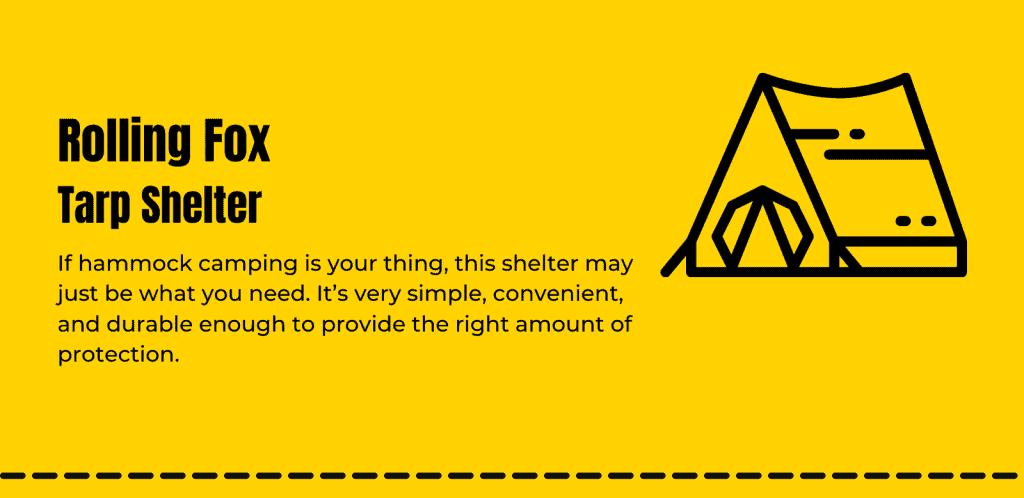 Rolling-Fox-Tarp-Shelter-Info