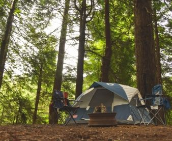 tent-in-the-woods