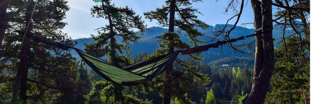 camping-hammock-on-sunrise
