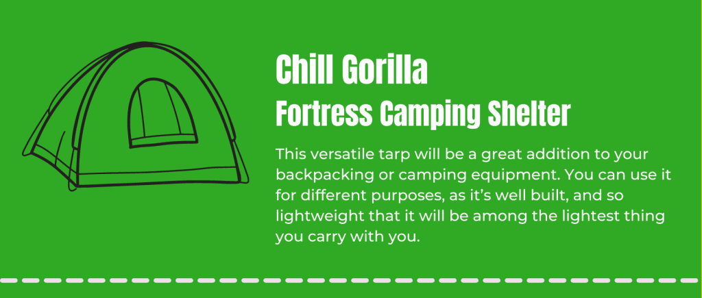 Chill-Gorilla-Fortress-Camping-Shelter-Info